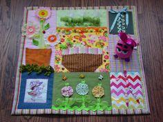Fidgety Gardener Girl Fidget Quilt Tactile by EndearingDignite