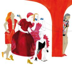 Fashion Illustration for It fashion magazine. Hieronymus Bosch, Childrens Books, Illustrators, Disney Characters, Fictional Characters, Disney Princess, Inspiration, Behance, Spain
