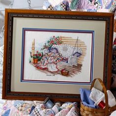 Leisure Arts - Joseph's Coat Cross Stitch Pattern ePattern, $4.99 (http://www.leisurearts.com/products/josephs-coat-cross-stitch-pattern-digital-download.html)