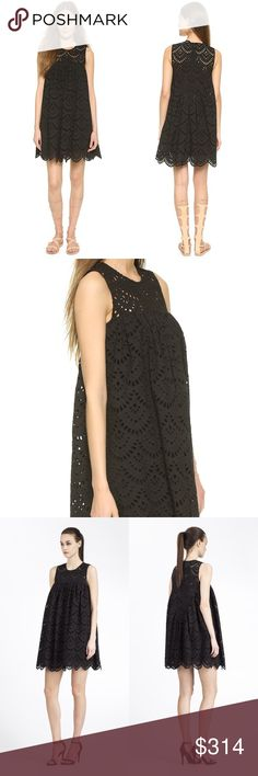 Cynthia Rowley Eyelet Dress Cynthia Rowley Babydoll Tunic Eyelet Dress in Black. In like new condition and shows no signs of wear. See above for product details Cynthia Rowley Dresses Mini