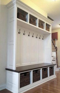 The Dublin Mudroom Lockers Bench Storage Furniture Cubbies Coat Rack on Home Inteior Ideas 169 Mudroom Storage Bench, Mudroom Cubbies, Mudroom Laundry Room, Laundry Room Design, Hall Storage Ideas, Indoor Storage Bench, Hall Bench With Storage, Storage Benches, Cubby Storage