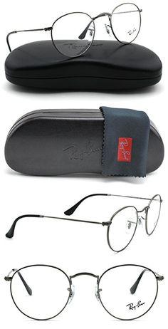 3a207298a0b Ray-Ban RX3447V Round Metal Unisex Eyeglasses (Matte Gunmetal Frame 2620