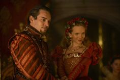 The Tudors - queen Katherine Howard and king Henry VIII