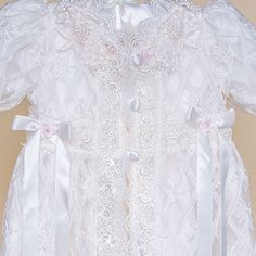 Charlotte Christening Gown (Girl) | Heirloom Baptism Clothes & Dresses