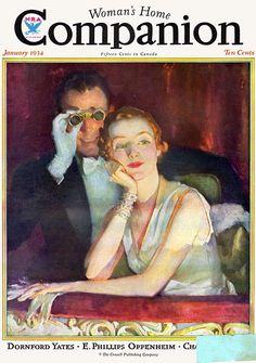 Woman's Home Companion Magazine, January 1934