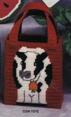 Cow tote 1/2