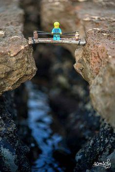 Legographie – Les nouvelles photographies de mini-figurines LEGO par Samsofy | Ufunk.net