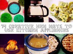 14 Creative New Ways To Use Kitchen Appliances