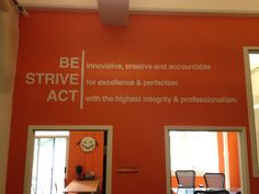 A52 Signs & Graphics - San Francisco, CA, United States. Wall Lettering -