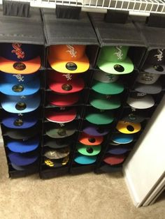 hat rack ideas case
