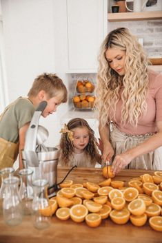 Our Kitchen - Barefoot Blonde by Amber Fillerup Clark - Trend Topic For You 2020 Cute Family, Family Goals, Happy Family, Family Life, Butcher Block Island, Amber Fillerup Clark, Barefoot Blonde, Mommy And Me, Baby Fever