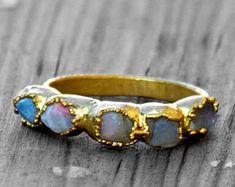 Raw opal ring Australian opal ring Rough opal ring Raw | Etsy Sterling Silver Opal Ring, Silver Claddagh Ring, Raw Opal Ring, Opal Rings, Be Natural, Natural Opal, Rough Opal, Pink Ring, Australian Opal