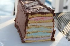 Layer cake made with OOpsies batter.  LC!