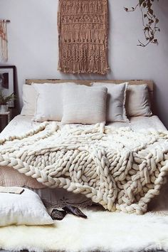 I Love This Texture Play   15 Rooms From Pinterest That Are Giving Us MAJOR  Fall Vibes   Photos ...