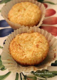 Margaret's Portuguese Kitchen : Coconut Tarts