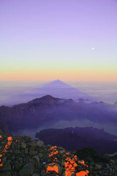 Mt Rinjani, Indonesia. Thanks again to the Cheetah Two boys.