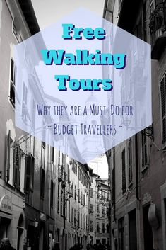 Free Walking Tours - A Must Do for Budget Travellers Europe On A Budget, Europe Travel Tips, Budget Travel, Travel Guides, Travel Destinations, Travel Hacks, Train Travel, Walking Tour, Repeat