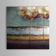 minyak lukisan abstrak 1304-ab0485 yang dilukis dengan tangan kanvas – USD $ 58.49