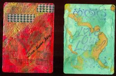 Altered Book Lover: Altered Playing Cards, Week 20: Hearts and Love