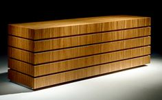 Chests of Drawers - ZEBRANO WOOD CHEST OF DRAWERS ART 180