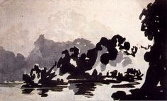 polita: On Rorschach, Art and Non-Meaning Landscape Drawings, Abstract Landscape, Landscapes, Modern Artists, Artists Like, Francisco Goya, English Artists, Comic Artist, Art Tutorials