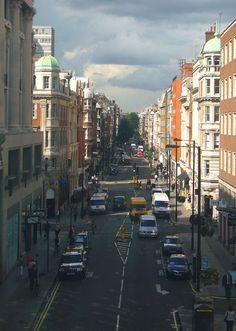 Great Portland Street in Westminster, London