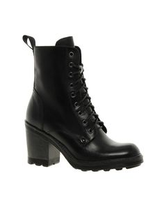 combat boot heels... LOVE THESE