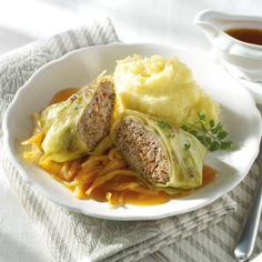 Kohlrouladen mit Kartoffelpüree Rezepte | Weight Watchers