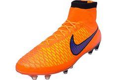 Nike Magista Obra FG Soccer Cleats - Total Orange...shop here: http://www.soccerpro.com/Nike-Magista-Soccer-Shoes/