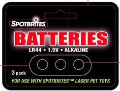 Spotbrights Replacement Battery 3-Pack Carded $3.49