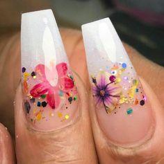Nail Art Designs, Colorful Nail Designs, Beautiful Nail Designs, Sassy Nails, Cute Nails, Pretty Nails, Fabulous Nails, Perfect Nails, Encapsulated Nails