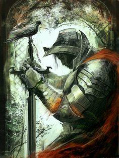 Forgotten Knight by sinakasra on dA;  http://fc02.deviantart.net/fs71/f/2011/001/6/1/forgotten_knight_by_sinakasra-d366yuh.jpg