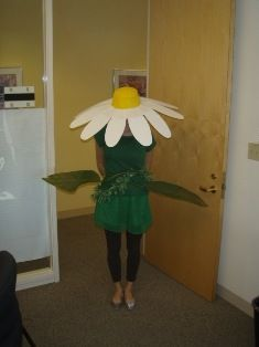 HallowGREEN Contest Winner. Best Women's Costume: Amalia the Flower