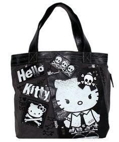 111b7a3e4d0 Hello Kitty Angry Punk Tote Bag -  56.00 Hello Kitty Purse, Hello Kitty  Clothes,