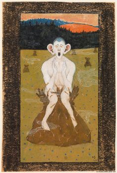 Kansallisgalleria | Hugo Simberg: Halla 1895 Fine Art Prints, Framed Prints, Canvas Prints, Heritage Image, Image Collection, Art Images, Poster Size Prints, Photo Wall Art, Frost