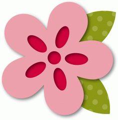 Silhouette Design Store - View Design #36446: layered flower