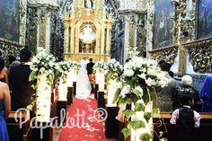 Iglesia iluminada capilla del rosario Puebla