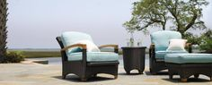 Gloster Patio furniture perfect for the 2014 summer season!