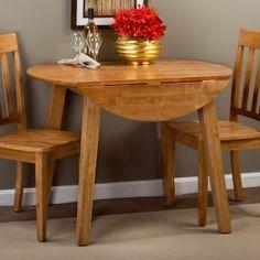 Round Dining Set, Round Kitchen, 3 Piece Dining Set, Kitchen Dining Sets, Solid Wood Dining Set, Dining Room Sets, Dining Room Table, Dining Chairs, Kitchen Ideas