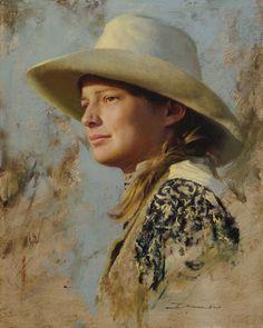 D. Edward Kucera (American, born 1961), Wrangler's Daughter