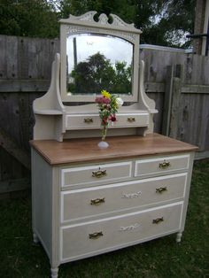 Dresser I would do this with my buffet table. Cycle up!!!!