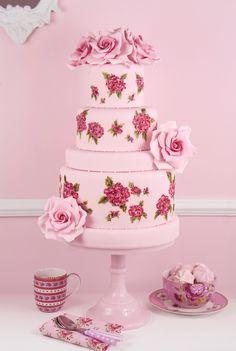 Cakes Haute Couture - Pasteles de Alta Costura: Isabelle