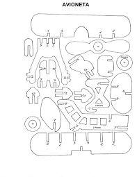 Resultado de imagen para planos de juguetes en madera gratis