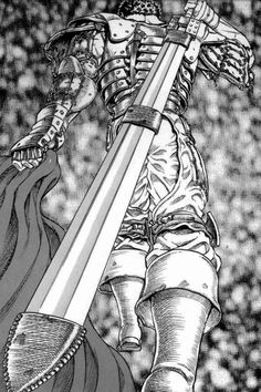 The sword of the Black Swordsman Guts from Berserk.