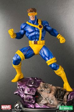 [KOTOBUKIYA] Marvel Danger Room: Cyclops Fine Art Statue