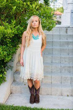 Augustine White Dress – Two Elle's Boutique