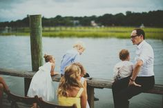 Carrie & Chris | Cotton Dock at Boone Hall Plantation | The Wedding Row | The Wedding Row