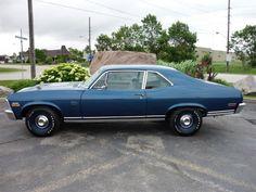 1970 Chevrolet Nova SS 402/375 horse 4bbl V8/TH400 columshift/3.55 12bolt Posi