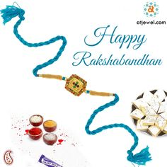 ATJewel Wishing You a Very Happy Rakshabandhan,a Bond To Celebrate The Beauty Of Brother-Sister Relationship. #Atjewel #Diamond #RakhiCollection #Gold #Silver http://www.atjewel.com/rakhi