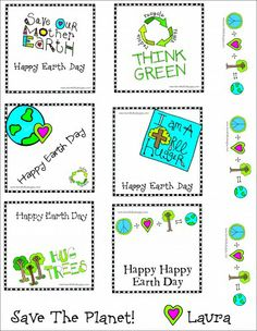 Mckenna Creates Earth Day Gifts with a FREE Printable